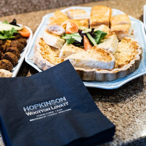 Funeral catering platters by Hopkinson Wootton Lovatt